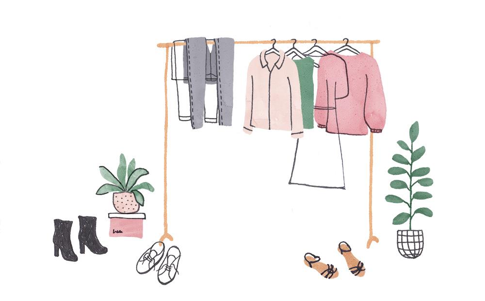 kleding ontspullen