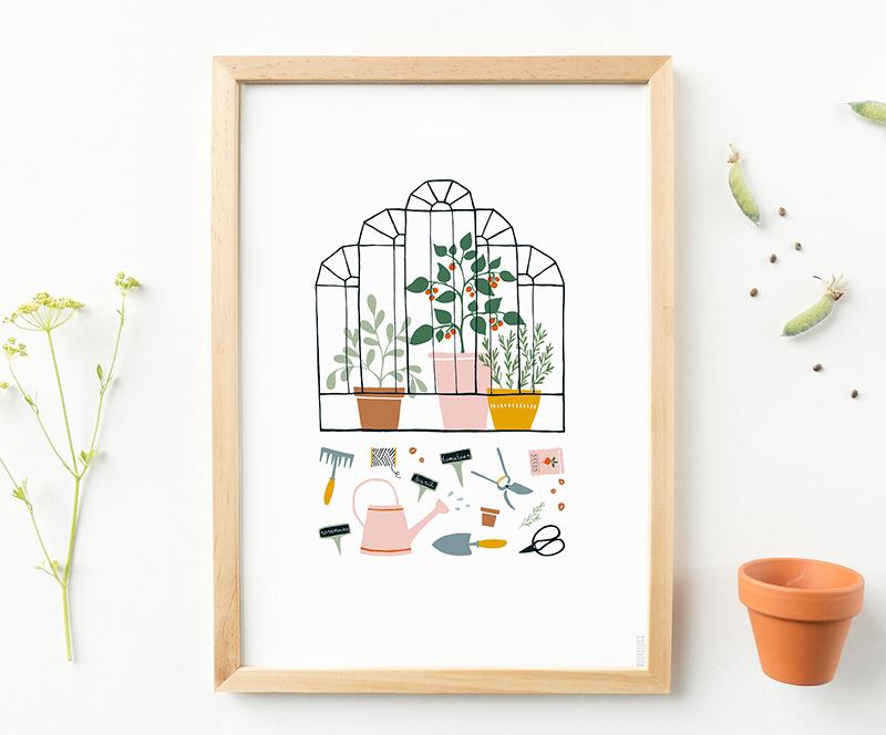 poster tuinieren
