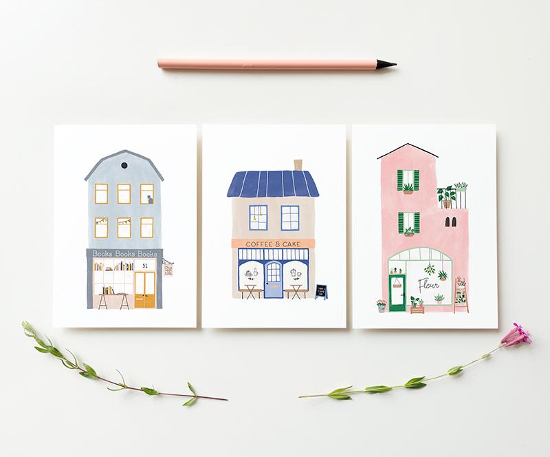 kaarten huizen