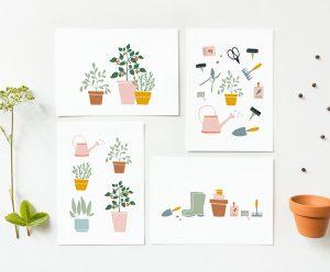 kaarten planten tuinieren