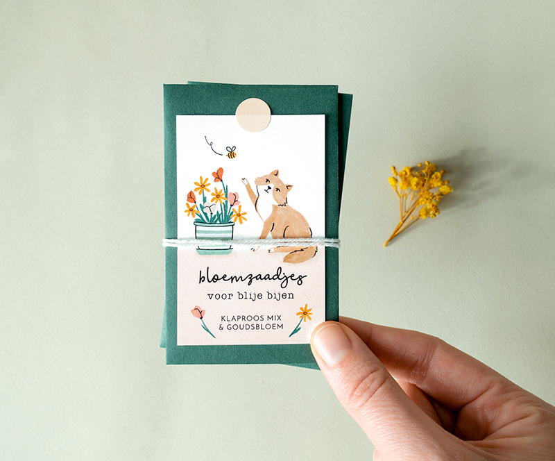 duurzaam cadeau bloemzaden