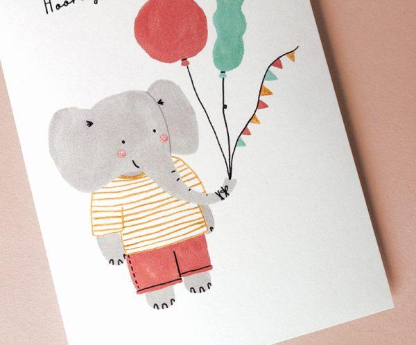 babykaart olifant