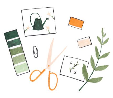 illustratieve branding
