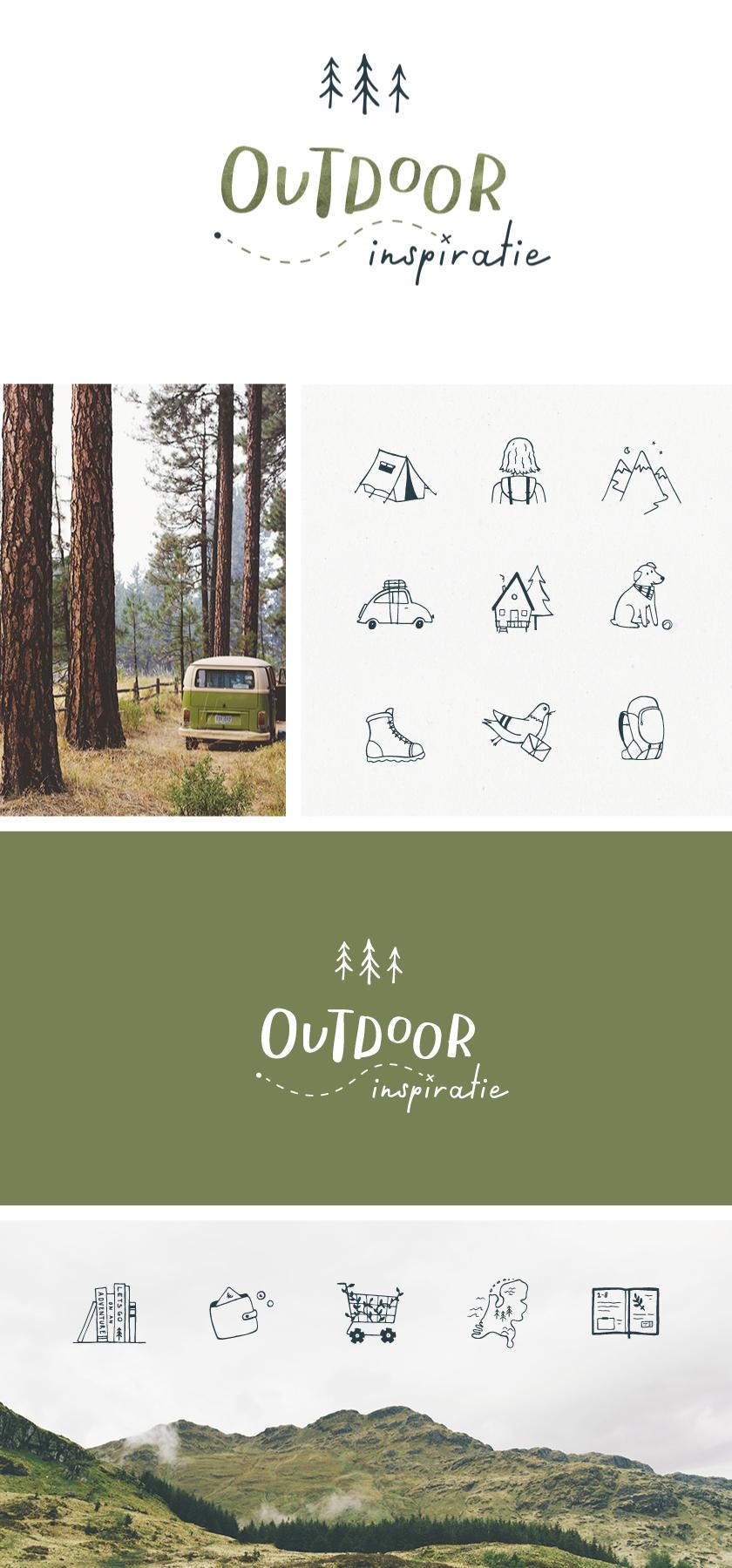 outdoor inspiratie branding ontwerp