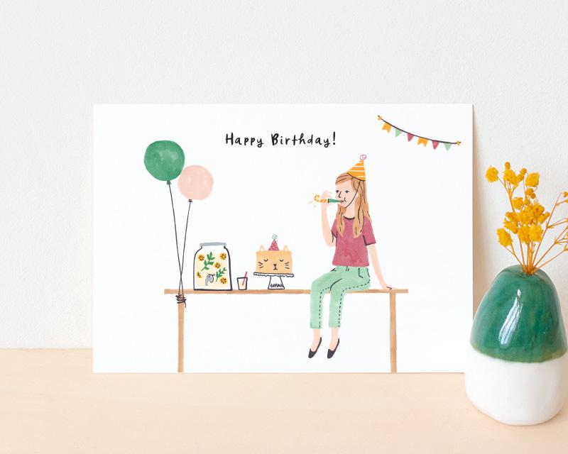 verjaardagskaart happy birthday