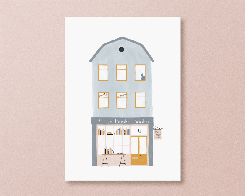 kaart boekenwinkel