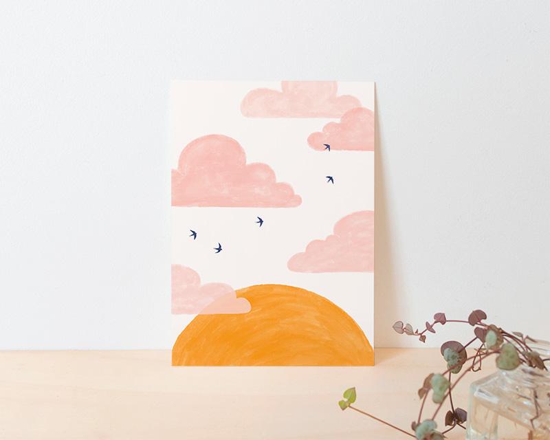 kaart zon en zwaluwen