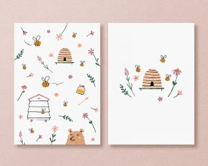 kaarten bijen imker